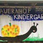 Begrüßungslaken vom Bauernhofkindergarten