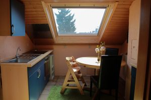 Küche des Mutter-Kind-Hauses
