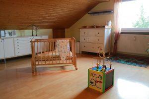 Kinderzimmer im Mutter-Kind-Haus