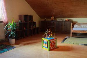 Schlafzimmer im Mutter-Kind-Haus