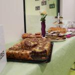 Kuchen-Buffett der Kinderspinnerei